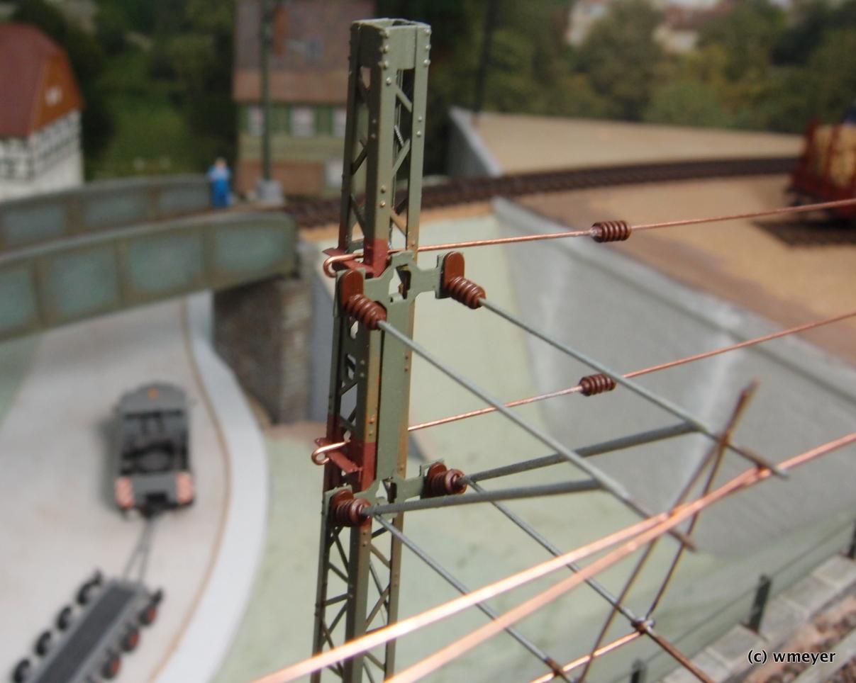 Fahrleitungsfestpunkt