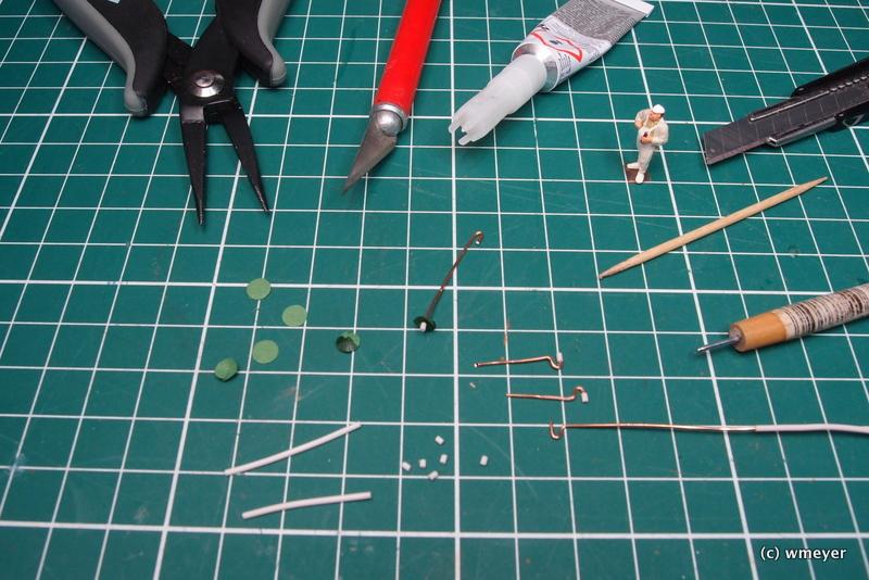 Werkzeuge und Einzelteile für die Produktion