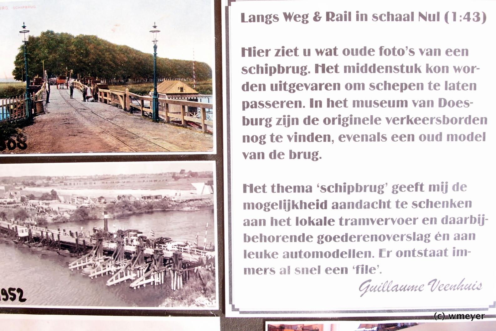 Schiffsbrücke aus den Niederlanden
