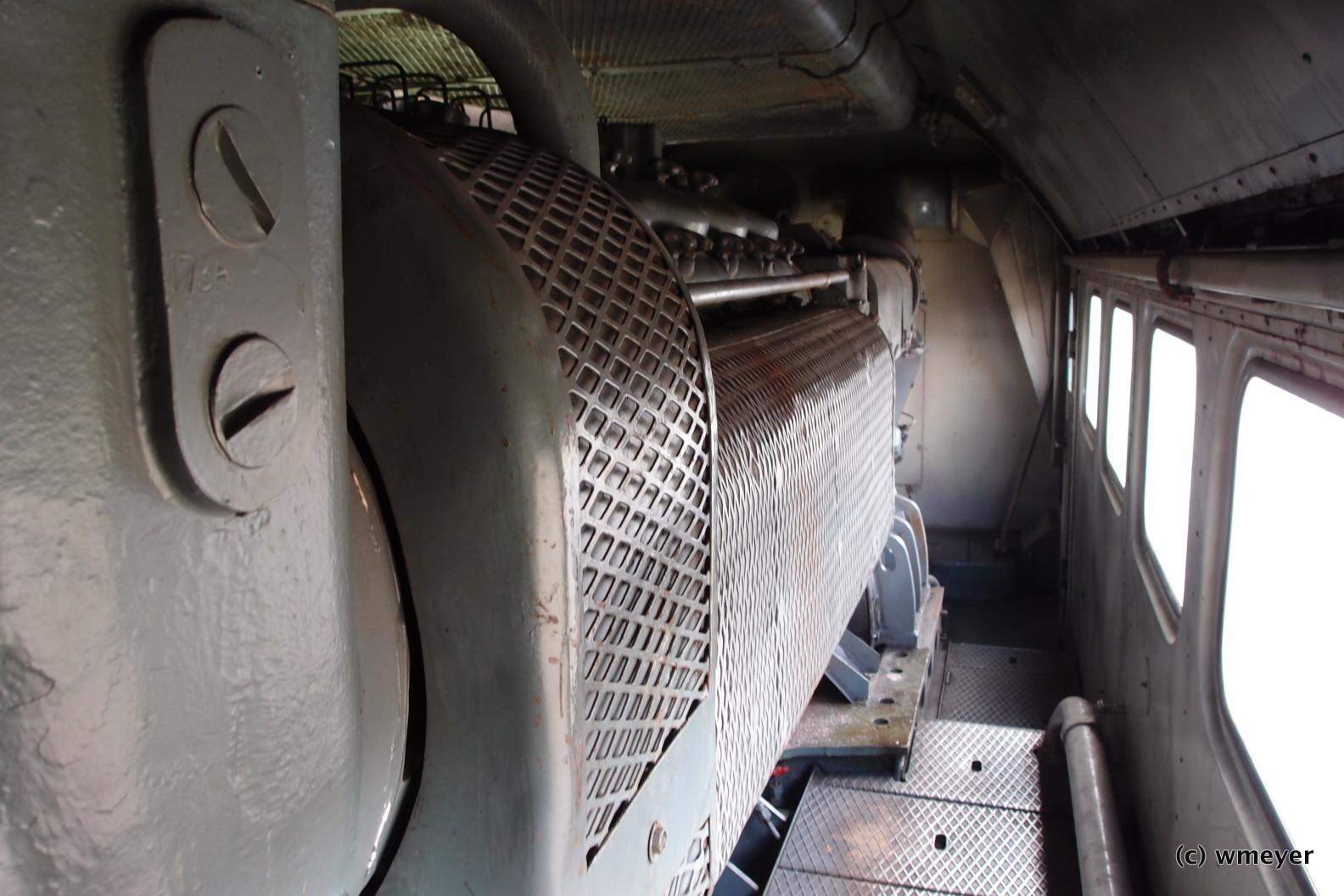 Maschinenraum BR120