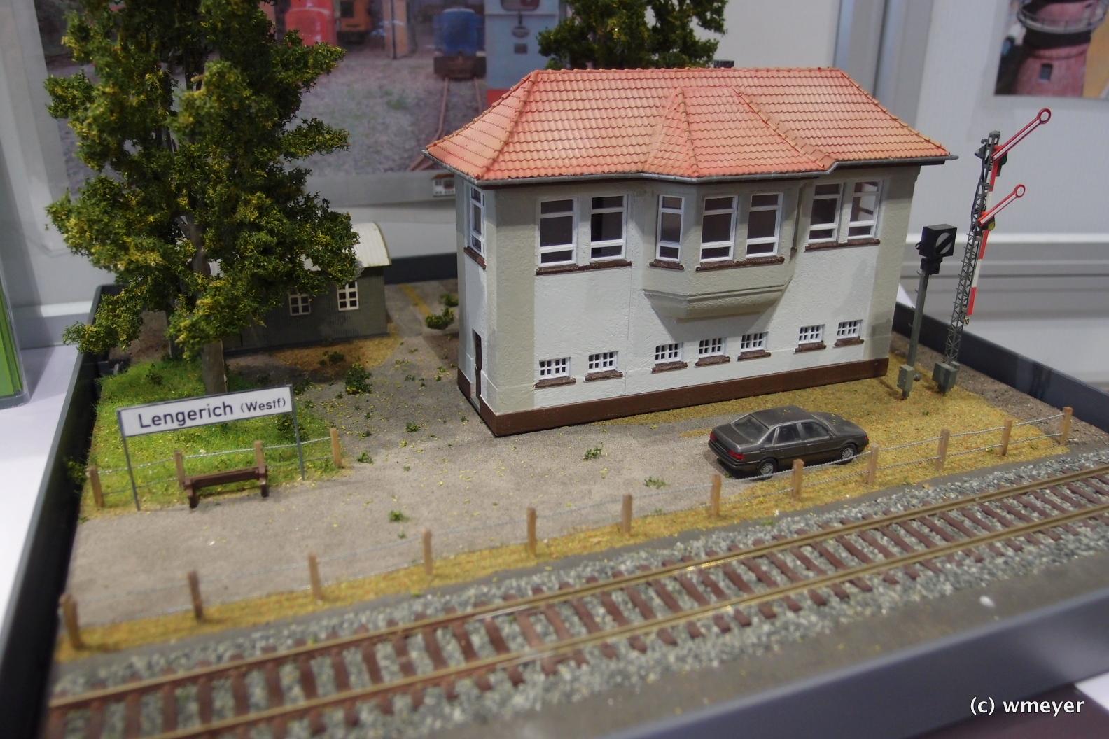 Vereinsheim der Lengericher Eisenbahnfreunde im Modell