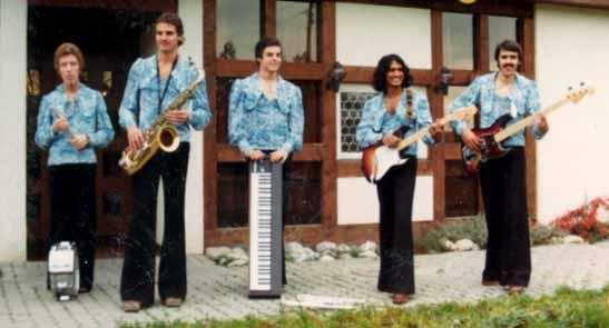 Cherry Dolles / v.l.n.r.: Bernhard Fritschi, Renato Ravioli, Heinz Reichenbach, Brian Croner, Beat Aegerter