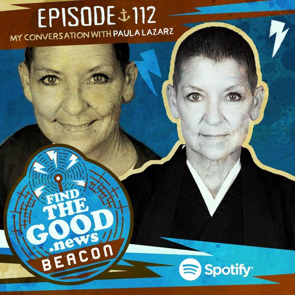 Episode 112—The Fist Switch—ft. Paula Lazarz, Shaolin Martial Artist, Soto Zen Buddhist Priest, and Head Instructor at Healthkick Kung Fu