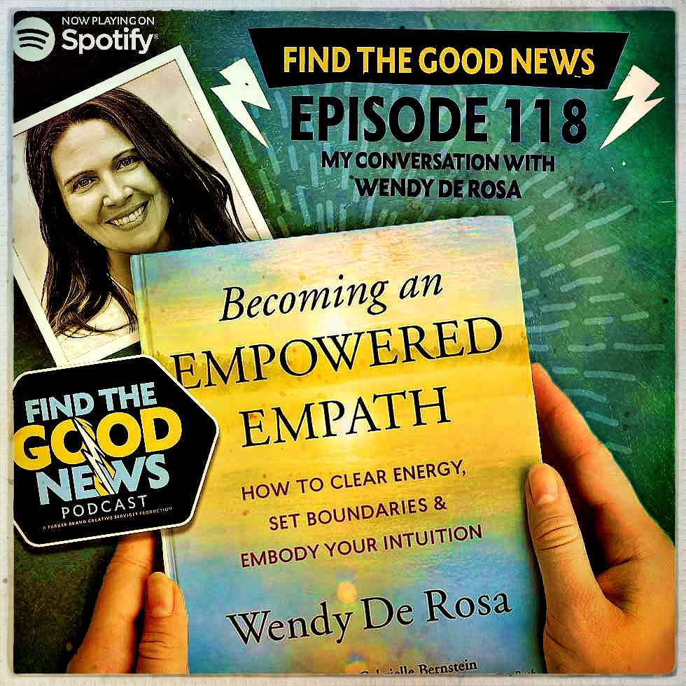 """Episode 118 - The Honored Struggle - Beacon SeriesFt. Wendy De Rosa, author of """"Becoming An Empowered Empath"""""""