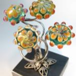 Objekte aus Glas und Metall