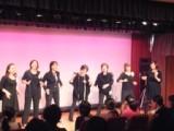2013.11.03初ステージの様子です(2013市民文化祭)