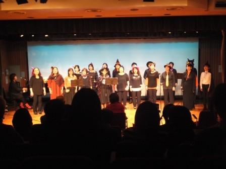 2015.10.31市民文化祭3回目の参加。メンバーが20数名になりました!