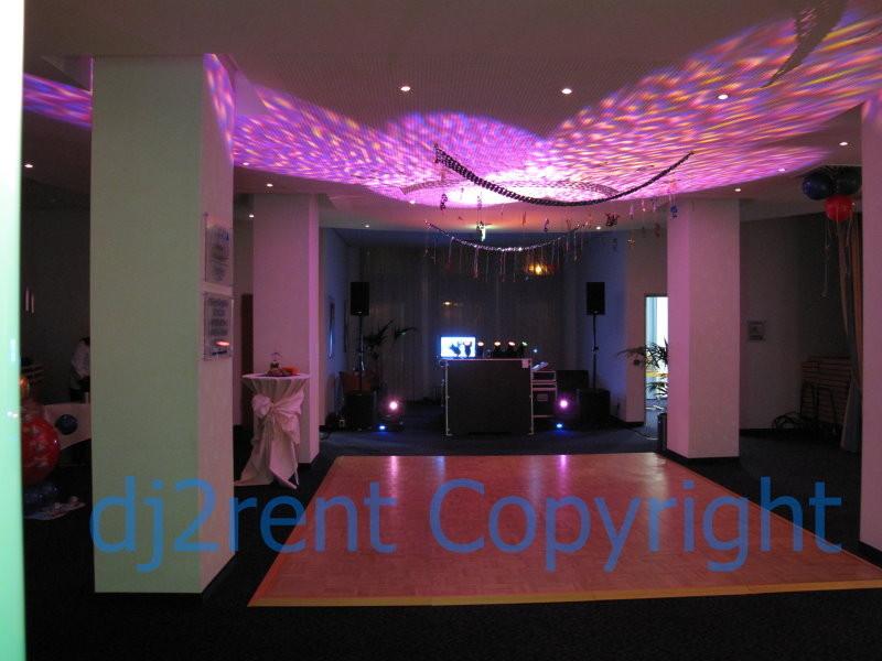 Kunden Mottoparty (Köln) - Hotellobby mit Tanzfläche