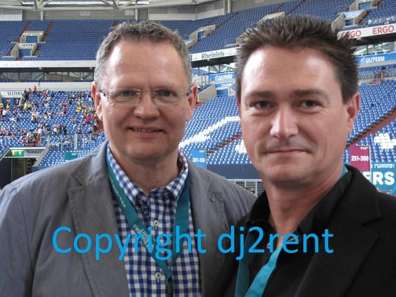 Runnerspoint Staffellauf - Moderator (Ulli Potofski) und DJ