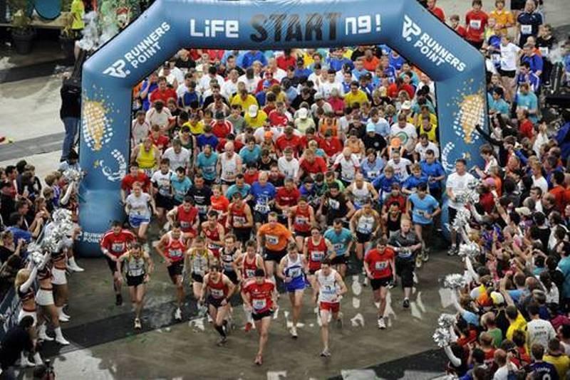 Runnerspoint Staffellauf - Der Start