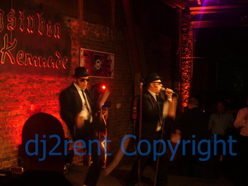 Hochzeit im Haus Kemnade - Rahmenprogamm Blues Brothers