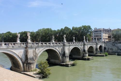 Мост св. Ангела в Риме, фото