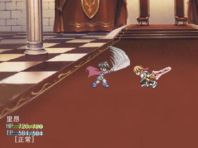 达利尔王宫战斗