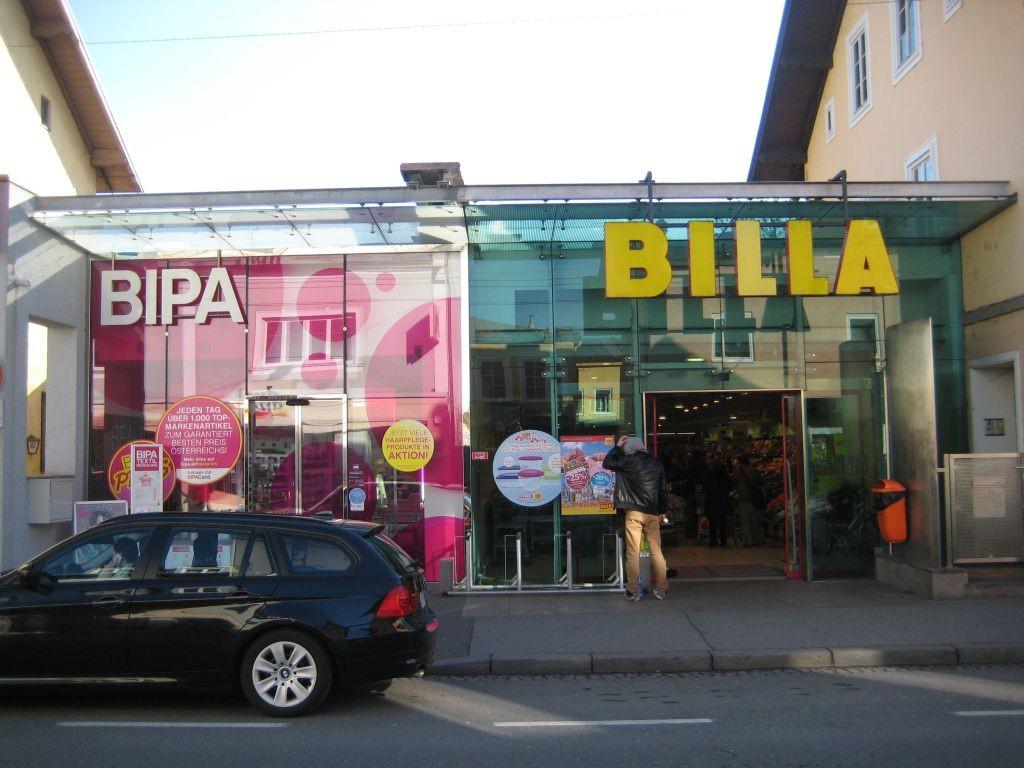 Bipa und Billa