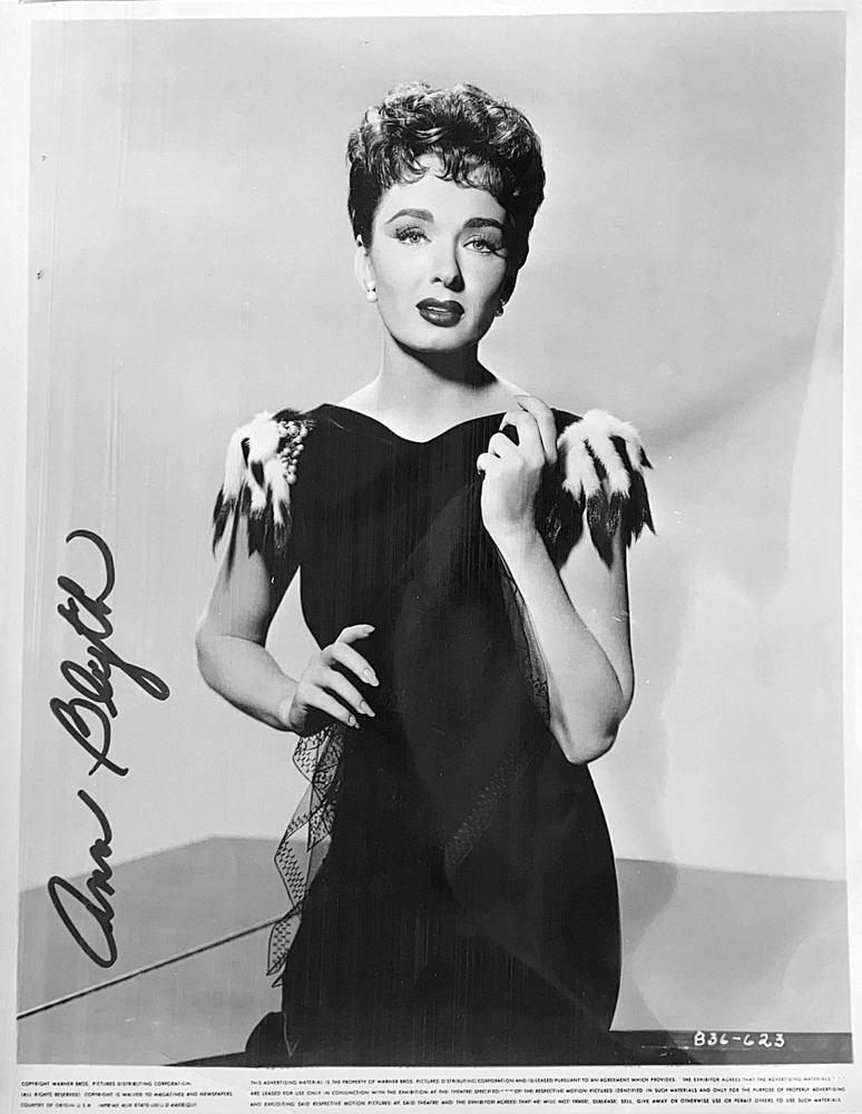 Autograph Ann Blyth Autogramm