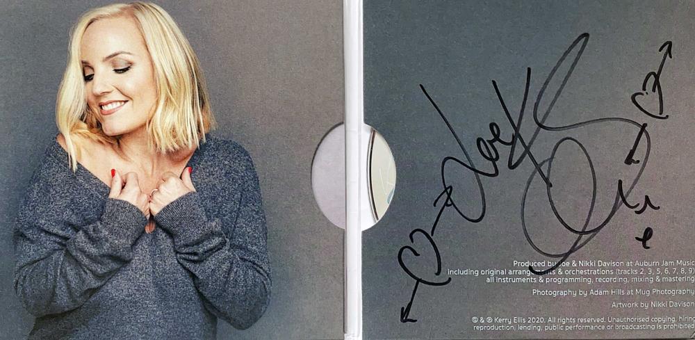 Autograph Kerry Ellis Autogramm