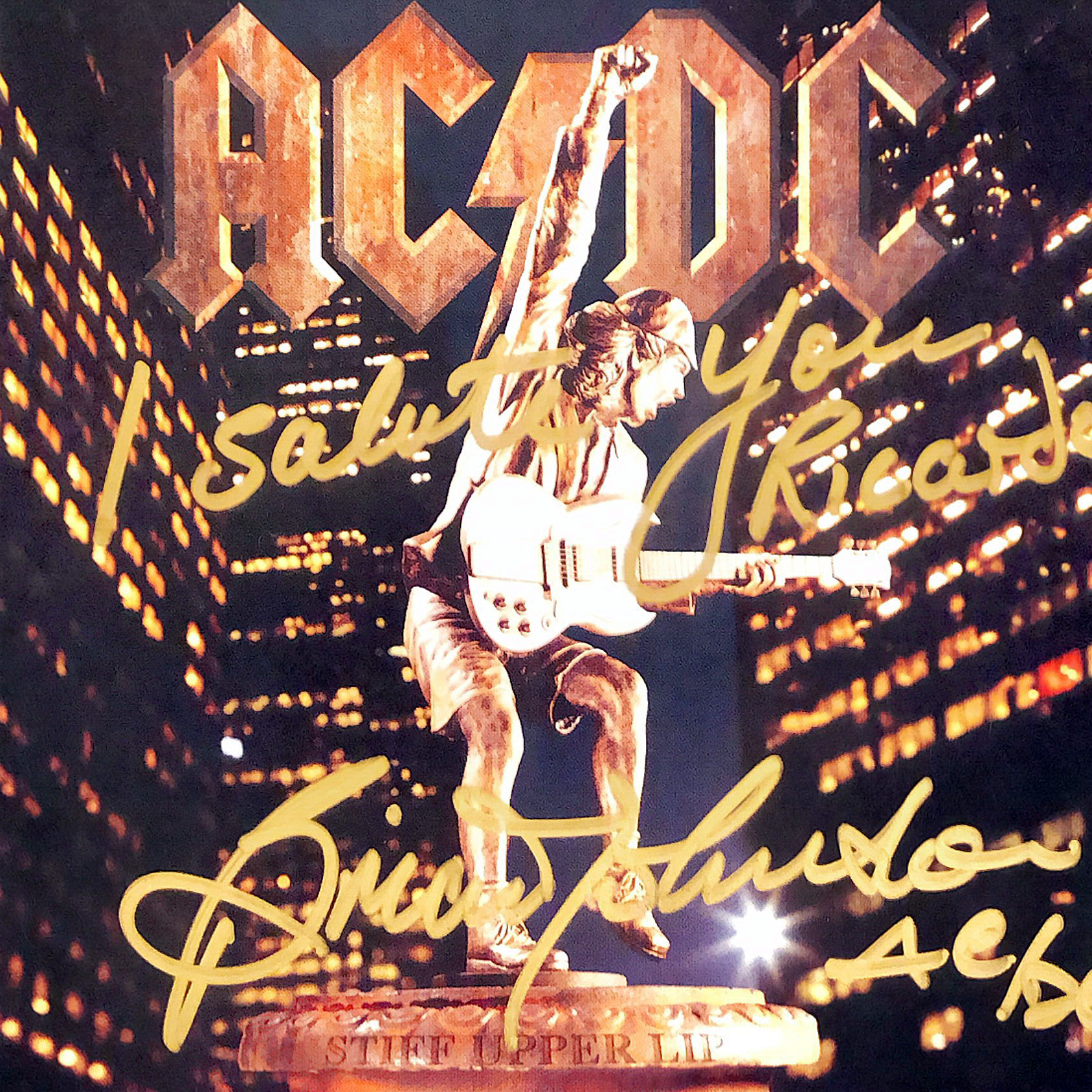 AC/DC: Brian Johnson Singer, Autograph by Mail