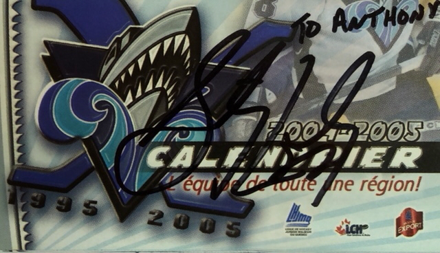 Autograph Sidney Crosby Autogramm