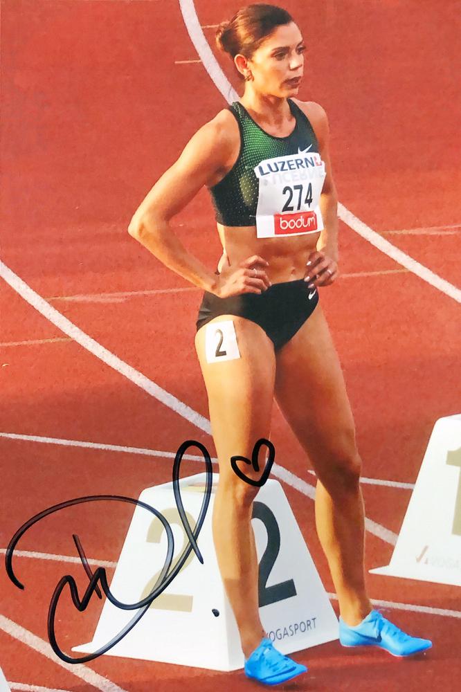 Autograph Pamela Dutkewiecz Autogramm