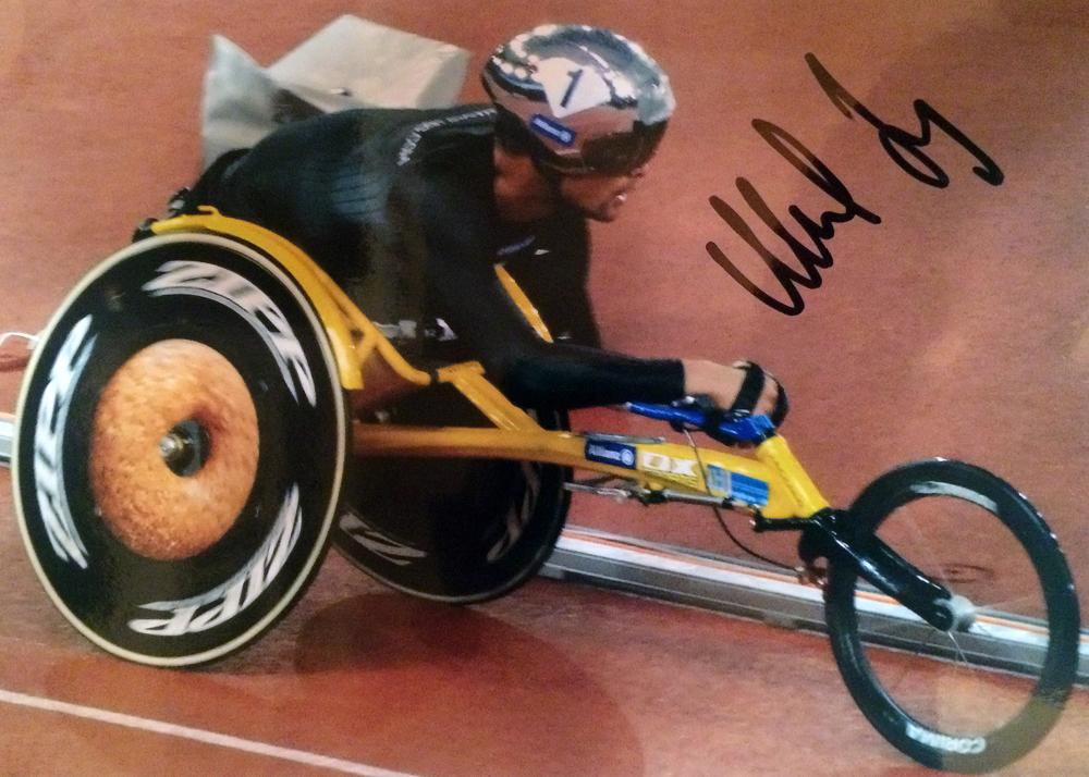 Marcel Hug Autograph