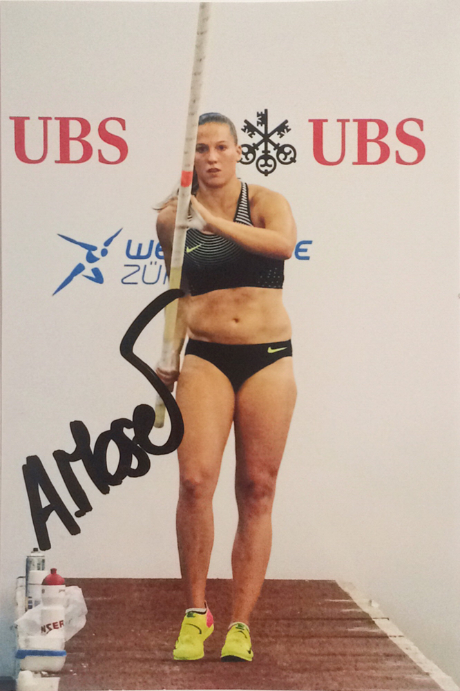 Angelica Moser Autograph