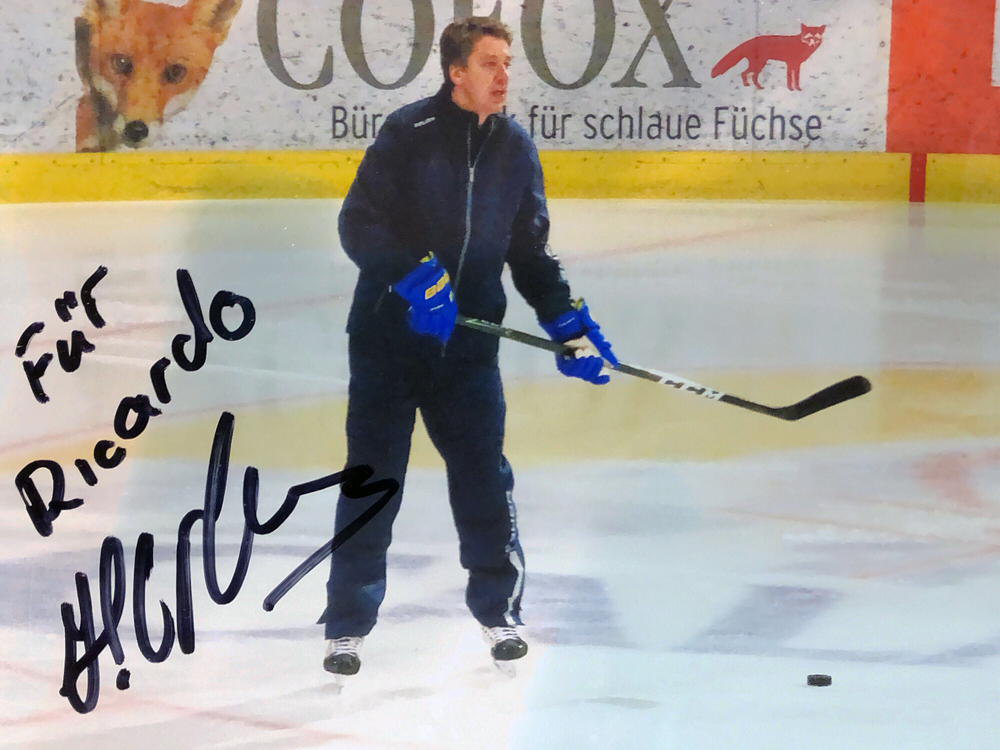 Autograph Haris Witolinsch Autogramm