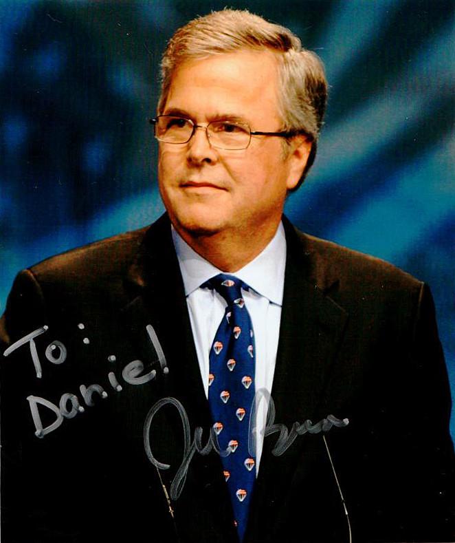 Jeb Bush Autograph