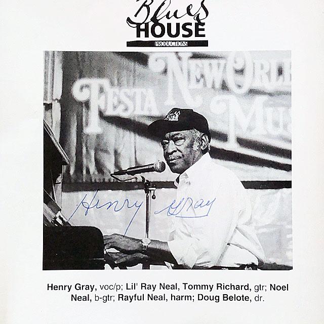 Autograph Henry Gray Autogramm
