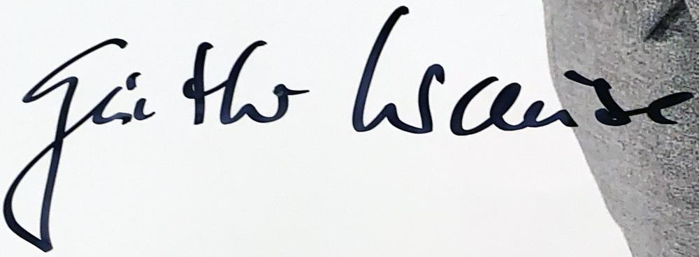 Autograph Gunther Krause Autogramm
