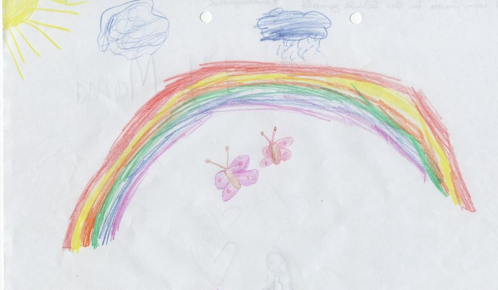 """Sara 7 Jahre """"Schmetterlinge"""""""