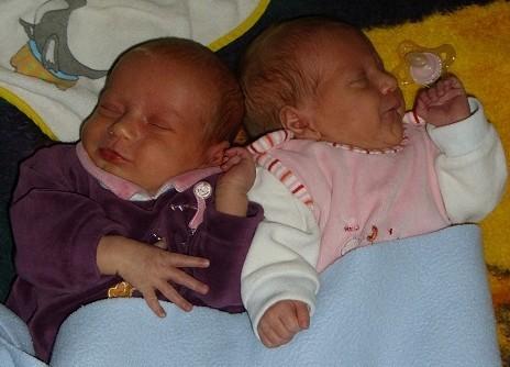 Zwillinge 3 Wochen
