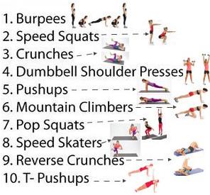 10 minutos de ejercicio completo para mujeres