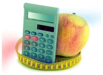ingesta diaria de calorías