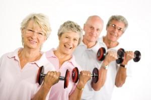 Salud y deporte para mayores de edad