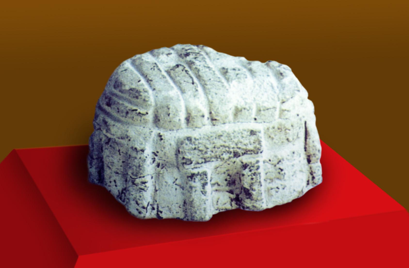 Modell des Ta'Hagrat Tempels