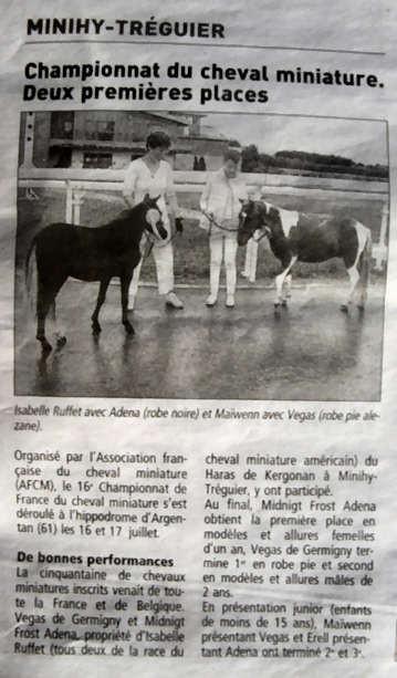 Le Télégramme - 23 Juillet 2011