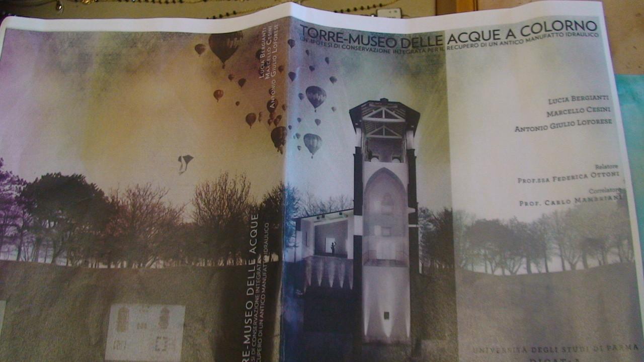PROGETTO  TORRE - MUSEO  DELLE ACQUE  DI COLORNO