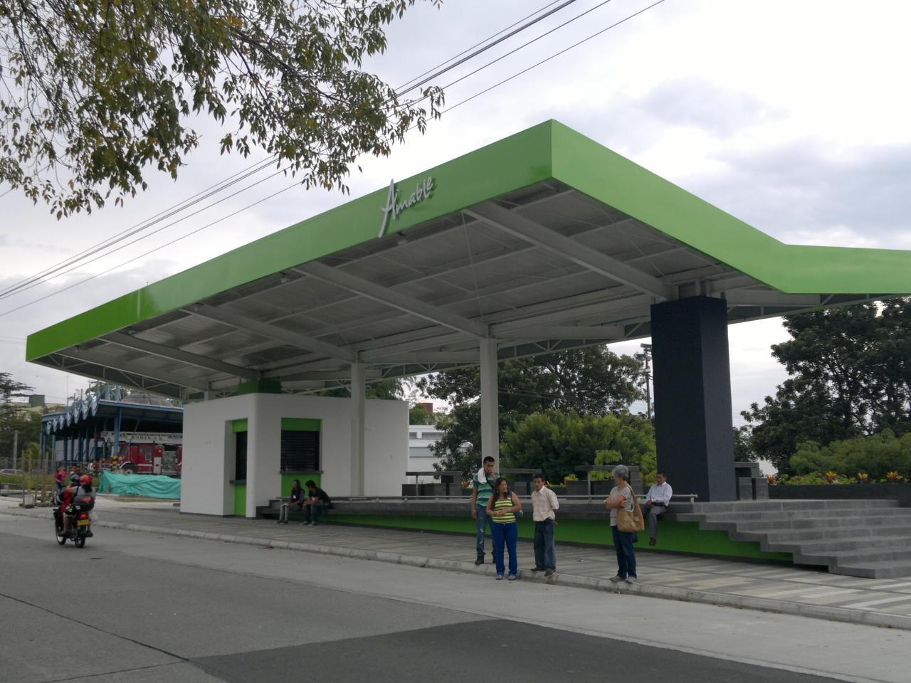 PARADERO CON ESPACIO PUBLICO PEP COLISEO ARMENIA