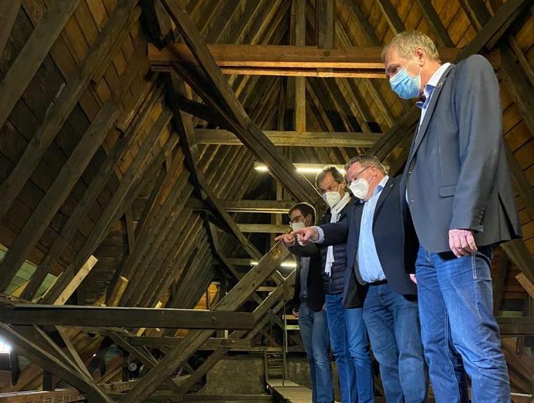 Bund fördert die Sanierung der Christuskirche in Neunkirchen mit 20.000 Euro