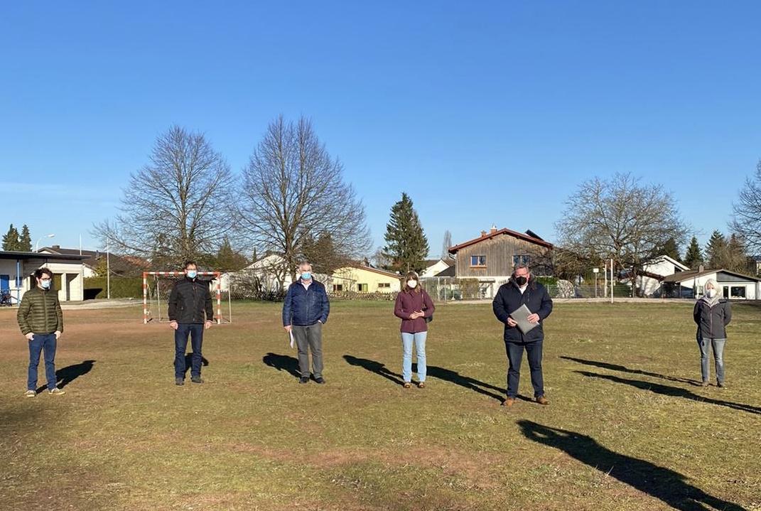 Bund fördert die Errichtung eines Multifunktionsfeldes in Blieskastel-Aßweiler mit 175.500 Euro