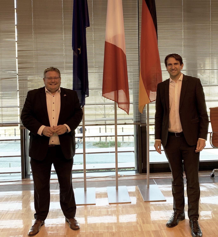 Markus Uhl wird Vorstandsmitglied der Deutsch-Französischen Parlamentarischen Versammlung