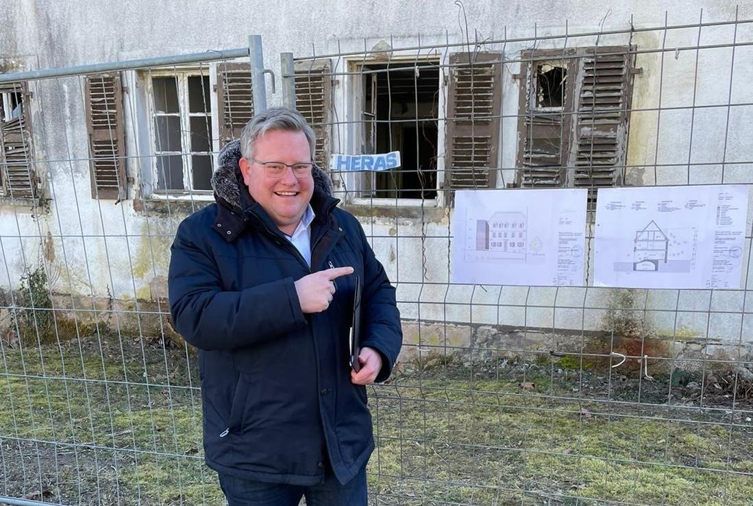Bund fördert die Sanierung des ehemaligen Schwesternwohnheimes und den Umbau zum Jugendzentrum Plus mit 1,8 Millionen Euro