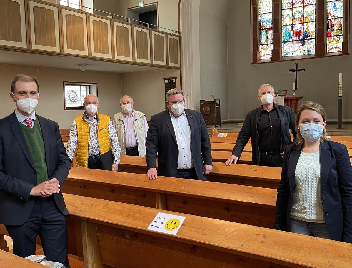 Bund fördert die Sanierung der Martin-Luther-Kirche und der Kirche St. Engelbert in St. Ingbert mit insgesamt 250.000 Euro
