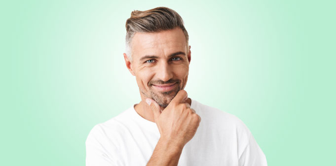 Mann Haarausfall Haarwachstum Hyaluron Schönheit Männlichkeit Saarbrücken