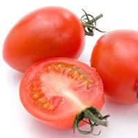 トマト半分にカット