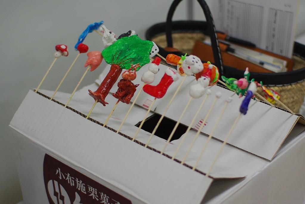 実はこれ、Niccoさんが講座前に「サクッ」と作ってくれた乾燥台。