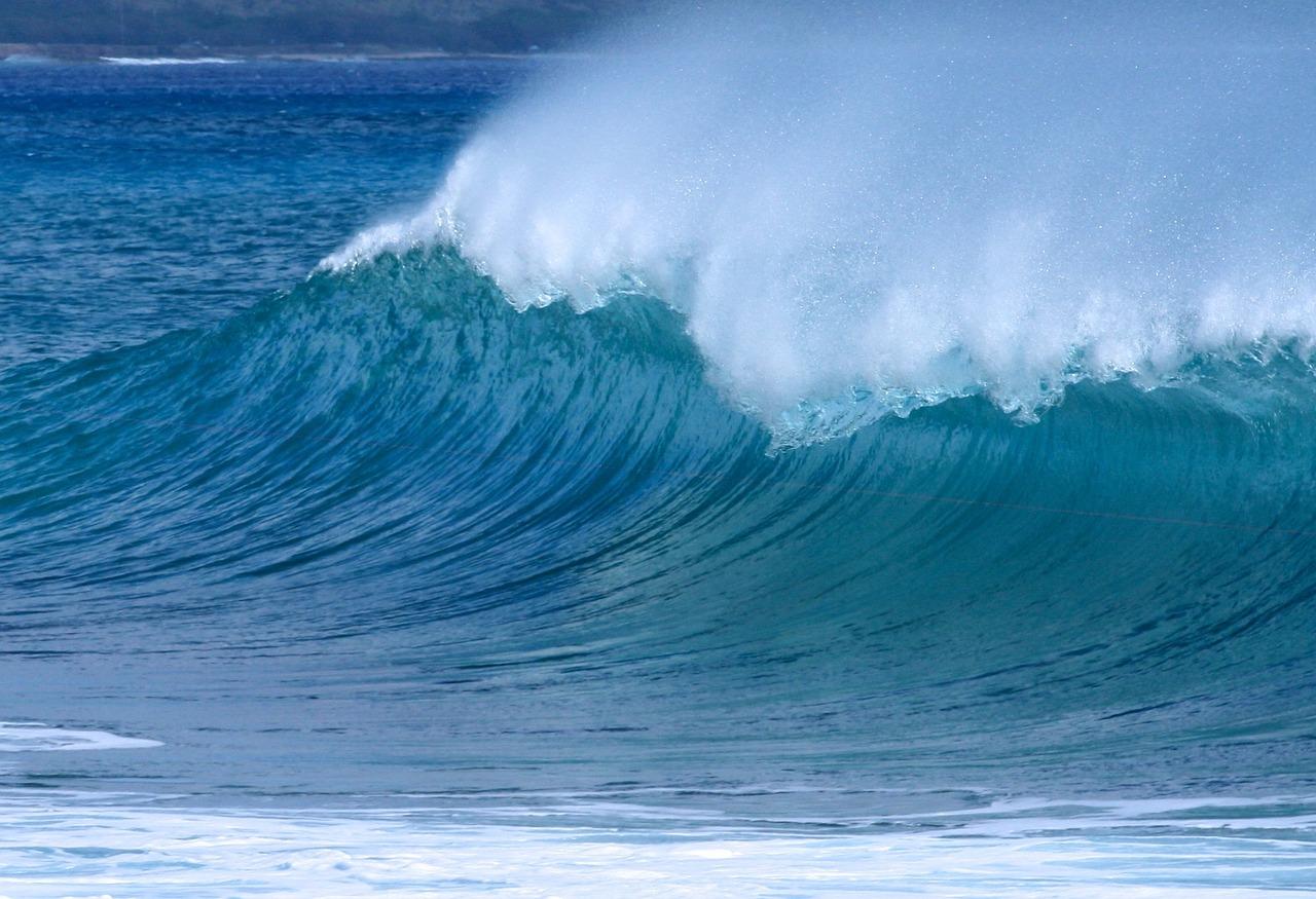 Lerne Surfen, dann kannst du den Hochs und Tiefs im Leben folgen.