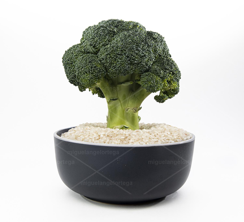 Bodegón con brócoli