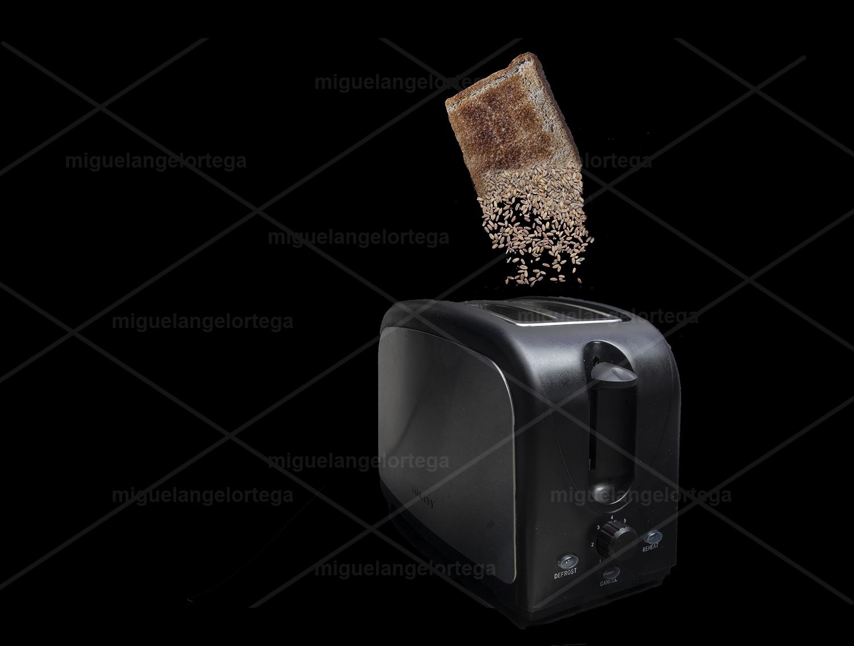 Se deshace la tostada