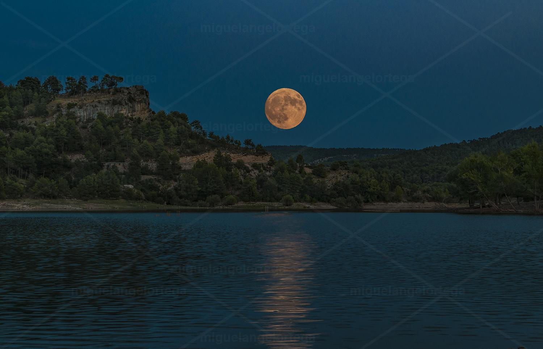 La laguna de la Luna Grande
